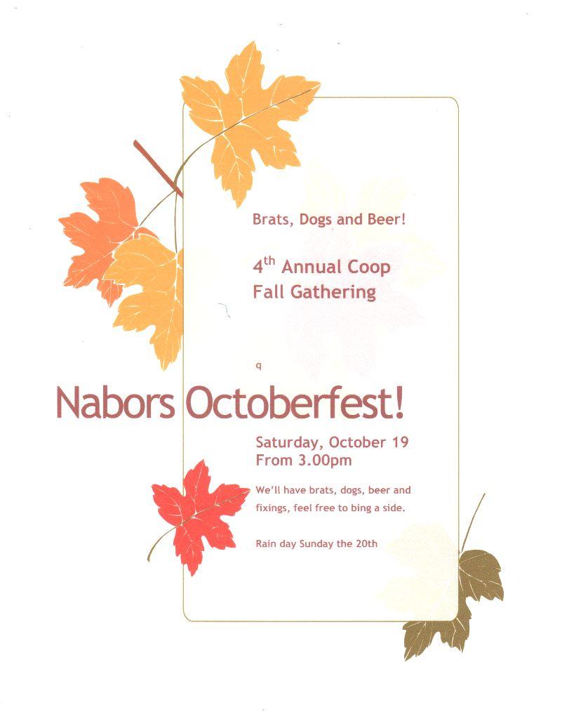 NaBors Oktoberfest