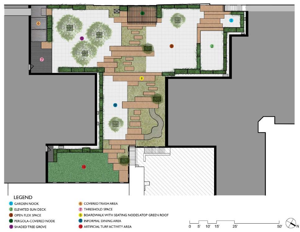 NaBors roof garden design